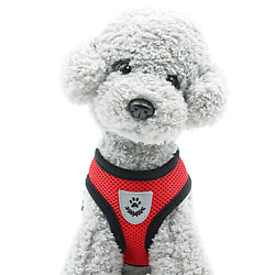 Mesh Padded Soft Puppy Pet Dog Harness Breathable Comfortable Many Colors S M L $7.59