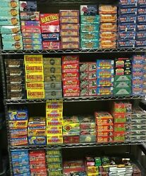 HUGE LOT: 100 Unopened Basketball Cards in Factory Sealed Packs of NBA Cards $27.95
