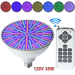 Color Change Led Swimming Pool Light Bulb 120V 35W Fits PentairHayward Fixture $64.56