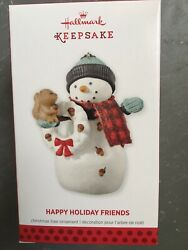 HALLMARK 2013 HAPPY HOLIDAY FRIENDS NIB