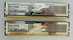 Lot of 2 OCZ 2GB PC3 10666 Platinum $25.99
