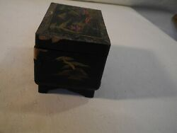 Vintage Music Jewelry Trinket Box ~ Asian Design