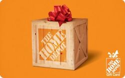 The Home Depot eGift Card - $25 $50 $100 or $200 - Email delivery