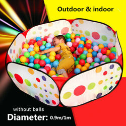 US Kids Children Portable Ball Pool Play Tent for Baby Indoor Outdoor Game
