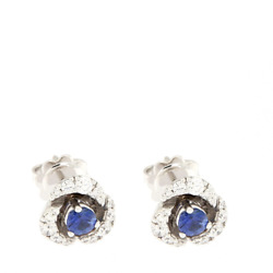 White Gold Earrings with Sapphires and Diamonds - High Jewelry Made to M