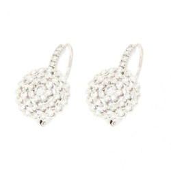Hanging White Gold with Diamonds - High Jewelry Made by hand from Martial
