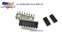 5PCS Texas Instruments TL494CN TL494 PWM Power Supply Controllers IC New IC $4.49