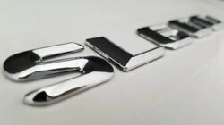 SL600 Fits Mercedes Rear Trunk Emblems Logo Badge Letters Numbers Word Decals $13.95