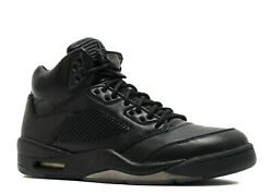 DS NIKE 2017 AIR JORDAN V PREMIUM PINNACLE GENUINE LEATHER BLACK 8.5 10.5 I