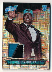 VERNON BUTLER RC 2016 PANINI THE NATIONAL EVEN USED HAT RELIC #0910 PANTHERS