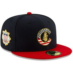 Chicago Cubs New Era 2019 Stars & Stripes 4th of July On-Field 59FIFTY Fitted