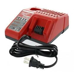 Genuine Milwaukee 48-59-1812 18V 18 VOLT M12  M18 Lithium-Ion Battery Charger