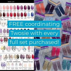 Color Street Nail Polish with FREE TWOSIE accent nails and QUICK SHIP! $3.00