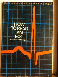 How to Read an ECG by Herbert H Butler A Book From RN Magazine TB7