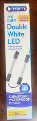 INTERPET HEALTHY FISH FOR LIFE LIFE LIGHT FOR AQUARIUM UP TO 20 GALLONS LED NIB $15.99
