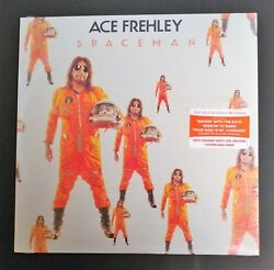 "Ace Frehley ""Spaceman"" Orange Vinyl LP Indie Exclusive Sealed!"