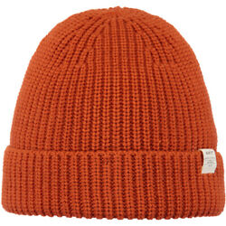 Barts NEW Unisex Schylar Beanie - Orange BNWT