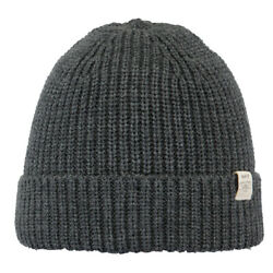 Barts NEW Unisex Schylar Beanie - Dark Heather BNWT