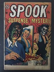 Spook Suspense Mystery #23 first printing original 1953 Star Comic Book LB Cole