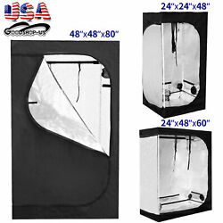 Hydroponics Grow Tent 100% Reflective Mylar Non Toxic Indoor Room Horticulture $48.65