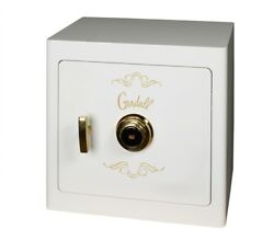 Gardall JS1718 Boltable Jewelry Drawer Safe Combo Lock WhiteGold Trim