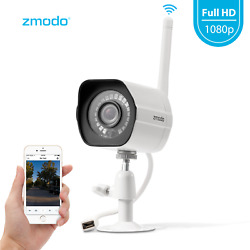 Zmodo 1080p WiFi Outdoor Home Security Camera,Night Vision Remote Monitoring $31.99