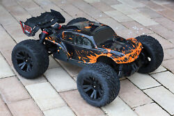 Custom Body Muddy Orange Buggy for ARRMA 1/10 Kraton 4S BLX 4x4 Truck Car Shell $24.99