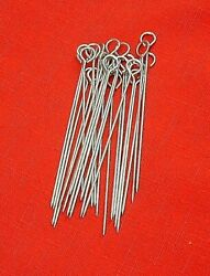 24 Pieces Quality Tools Turkey Poultry Lacers No TWINE Nickle Plated