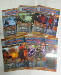 Starfinder Adventure Path Dead Suns Part 1 - 6 Paperback Good to Better