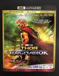 Thor: Ragnarok (Blu-ray + DVD 2018 2-Disc Set No Digital Copy) + Slipcover