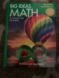 Big Ideas Math Green Student Edition $36.00