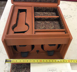 Scatola Del Tempo 2RT Carry Set New Skin and Silk Two Rotors and Jewelry Box