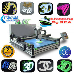 Industrial Automatic Color-Changing Shell Channel Letter 3D Printer - SEA Ship