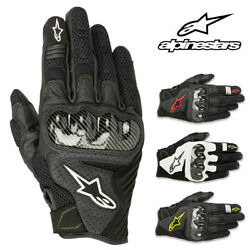 Alpinestars SMX 1 Air V2 Leather Street Motorcycle Gloves Men All Sizes amp; Colors $59.95