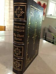 Short Stories of Charles Dickens Easton Press leather bound New ltd. edition