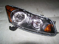 08-2012 Honda Accord Sedan OEM Passenger Headlight Right Side Halogen Headlamp