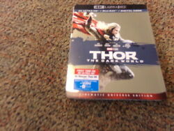 Thor: The Dark World (4K UHD + Blu-Ray + Digital) w Slipcover  Vs Malekith