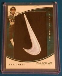2016 Immaculate Collection Insignias Allen Robinson Nike Swoosh 34