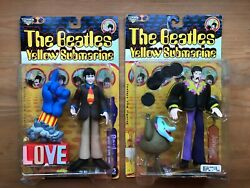 Beatles Yellow Submarine McFarlane 1999 Figures NIB Sealed