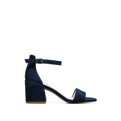 Kenneth Cole New York Women's Hannon Block Heeled Sandal with Ankle Strap 9.5