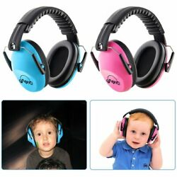 26db Kids Children Safety Noise Reduction Ear muffs Adjustable Ear Protection US
