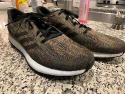 Adidas Pure Boost Endless Energy Mens BlackMulti Running Shoes Size 12