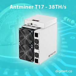 ⛏ Antminer T17 38THs with PSU ⛏ NEW - DEC BATCH 🔥 SALE 🔥