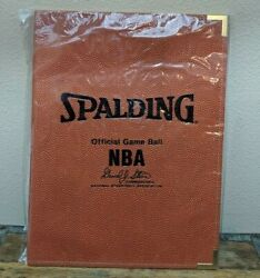 Vintage 1990s Spalding NBA Official Game Basketball Coaches Folder Sonics NEW $27.99