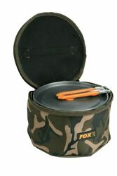 Fox Camo Neoprene Cookset Bag / Carp Fishing Luggage $15.18