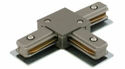 Liteline TC6103 BN T Connector For Track Fixtures Brushed Nickel $9.99
