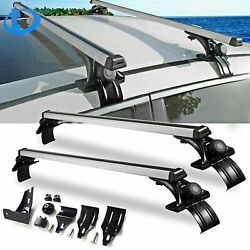 Universal 48quot; Car Top Roof Cross Bar Luggage Cargo Carrier Rack w 3 Kinds Clamp $67.78