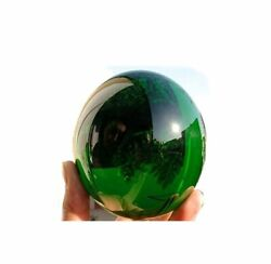 2pcs 60MM Natural Green Obsidian Sphere Large Crystal Ball Healing Stone $19.28