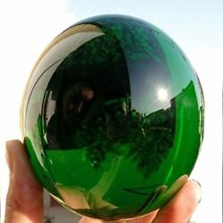 2pcs 40MM Natural Green Obsidian Sphere Large Crystal Ball Healing Stone $10.97
