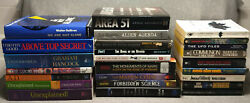 25 BOOK LOT UFO OCCULT ALIEN CONSPIRACY PHENOMENA